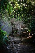 Garden Path in harbourside Mosman, Sydney,Australia