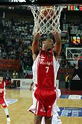 DESCRIZIONE : Roma Lega A1 2006-07 Lottomatica Virtus Roma Whirlpool Varese <br /> GIOCATORE : Howell <br /> SQUADRA : Whirlpool Varese <br /> EVENTO : Campionato Lega A1 2006-2007 <br /> GARA : Lottomatica Virtus Roma Whirlpool Varese <br /> DATA : 25/04/2007 <br /> CATEGORIA : Rimbalzo <br /> SPORT : Pallacanestro <br /> AUTORE : Agenzia Ciamillo-Castoria/G.Ciamillo