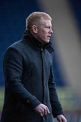 Falkirk's manager Gary Holt.<br /> Falkirk 1 v 1 Morton, Scottish Championship game today at The Falkirk Stadium.<br /> © Michael Schofield.