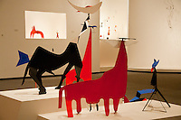 National Gallery, Washington DC, Calder Collection.  Close-up of animal figures.