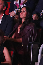 Meghan Markle attended the Invictus opening ceremony sitting 18 rows from Prince Harry <br /><br />23 September 2017.<br /><br />Please byline: Vantagenews.com
