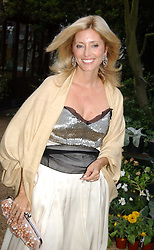 PRINCESS MARIE CHANTAL OF GREECE at the annual Cartier Flower Show Diner held at The Physics Garden, Chelsea, London on 23rd May 2005.<br /><br />NON EXCLUSIVE - WORLD RIGHTS