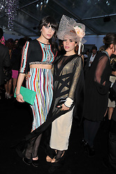 Left to right, DAISY LOWE and PALOMA FAITH at the Glamour Women of The Year Awards 2011 held in Berkeley Square, London W1 on 7th June 2011.