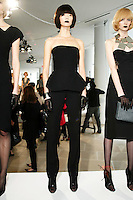 A model wearing Rachel Roy at the Rachel Roy Presentation of Fall/Winter '09 Collection at 533 West 18th Street, New York, NY on February 12, 2009