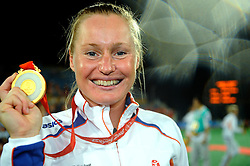 22-08-2008 HOCKEY: OLYMPISCHE SPELEN FINALE CHINA - NEDERLAND: BEIJING <br /> Nederlands dames hockey elftal Olympisch kampioen 2008 - Minke Booij<br /> ©2008-FotoHoogendoorn.nl