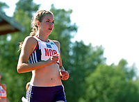 Friidrett<br /> Europacup kvinner<br /> 24.06.2007<br /> Foto: Hasse Sjøgren, Digitalsport<br /> <br /> Elisabeth Slettum