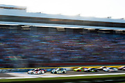 May 20, 2017: NASCAR Monster Energy All Star Race. 42 Kyle Larson, Target Chevrolet  leads the start of the All Star race
