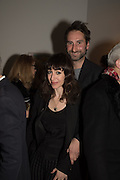 ANNIE MORRIS; IDRIS KHAN, Peter Doig  was the fourth artist to receive the  annual Art Icon award. Whitechapel Gallery. London.  26 january 2017