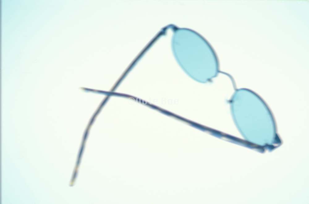 a pair of sun glasses