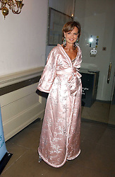 COUNTESS MAYA VON SCHONBURG at a charity dinner 'By Imperial Command' - a Chinese New Year Gala Dinner in aid of the charity Kids held at The Banqueting House, Whitehall, London on 8th February 2006.<br />