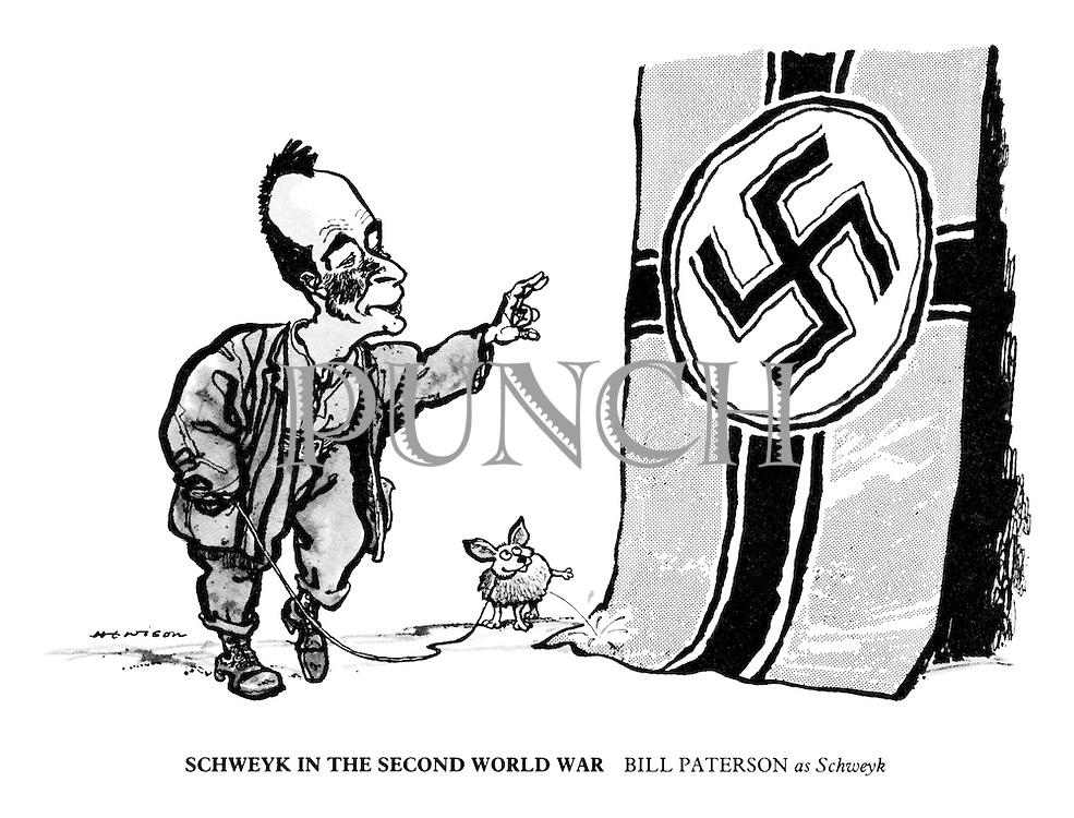 Schweyk in the Second World War. Bill Paterson as Schweyk