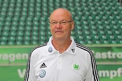 12.07.2011, Volkswagen Arena, Wolfsburg, GER, 1.FBL,  VfL Wolfsburg, Spielervorstellung im Bild  Herribert Rüttger (Zeugwart) beim VfL Wolfsburg in der Saison 2011/2012 // during the player praesentation in Wolfsburg 2011/07/12.     EXPA Pictures © 2011, PhotoCredit: EXPA/ nph/  Rust       ****** out of GER / CRO  / BEL ******