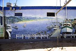 Mural In Moss Landing