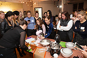 Brooklyn, NY - November 14, 2018: The feedfeed and SunSpire present a cookie baking workshop at the feedfeed studio in Bushwick.<br /> <br /> Photos by Clay Williams for The feedfeed.<br /> <br /> © Clay Williams - http://claywilliamsphoto.com