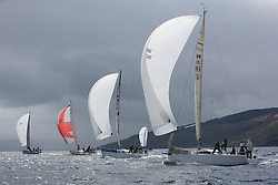 The third days racing at the  Silvers Marine Scottish Series 2015, organised by the  Clyde Cruising Club<br /> Based at Tarbert,  Loch Fyne from 22rd-24th May 2015<br /> <br /> IRC Class 2 downwind with GBR7667R, Now or Never 3, Neil Sandford, Fairlie YC, Mat 1010<br /> <br /> <br /> Credit : Marc Turner / CCC<br /> For further information contact<br /> Iain Hurrel<br /> Mobile : 07766 116451<br /> Email : info@marine.blast.com<br /> <br /> For a full list of Silvers Marine Scottish Series sponsors visit http://www.clyde.org/scottish-series/sponsors/