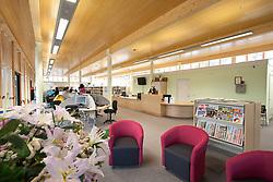 Hornsey School for Girls library, London Borough of Haringey London UK