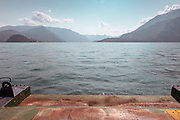 Como Lake: the ferry to and from Bellagio