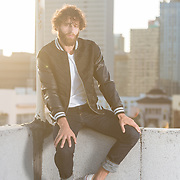 Rooftop shoot with LA model and actor, Jacob Anton. Images made at FD Photo Studios Rooftop on April 13, 2018 in Downtown Los Angeles, California. ©Michael Der