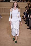 womenswear ready to wear<br /> prÍt a porter, summer 2016 , Roland Mouret Fashion Show<br /> ©Exclusivepix Media