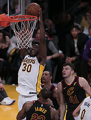 Lakers v Cavaliers - 11 March 2018