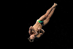 Australia's Domonic Bedggood in the Men's 10m Platform Final at the Optus Aquatic Centre during day ten of the 2018 Commonwealth Games in the Gold Coast, Australia.