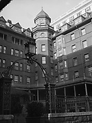 9969-7722. the Portland Hotel. Taken as a feature for Pic Magazine. January 7, 1943.