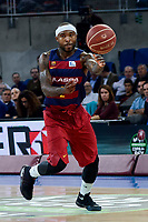 FCB Lassa's Tyrese Rice during Quarter Finals match of 2017 King's Cup at Fernando Buesa Arena in Vitoria, Spain. February 17, 2017. (ALTERPHOTOS/BorjaB.Hojas)