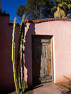 Door for a patio in downtown Tucson