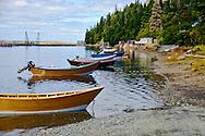 Fishing boats in Dark Harbour, Grand Manan