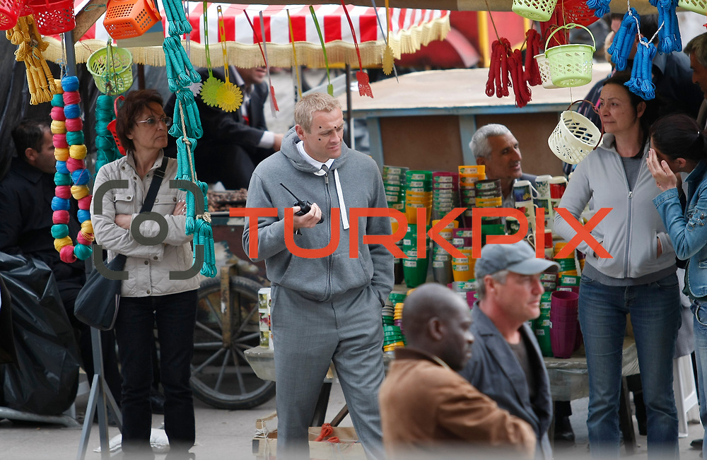 """The cast of the new James Bond movie, 23rd film in the James Bond series, 'Skyfall' are seen filming scenes for the movie in istanbul, Turkey, Thursday, May 03, 2012. Daniel Craig said, """"Bond has had a close relationship with Istanbul.."""" The 23rd film in the Bond series was shot on several locations in Turkey, between the southern province of Adana and the southwestern coastal town of Fethiye, as well as in the historical Grand Bazaar of Istanbul. Photo by TURKPIX"""