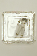 toy action figure in plastic container