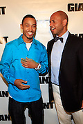 Terrence J and Emil Wilbekin at The Giant Magazine Party, celebrating cover girl Kimora Lee Simmons and new Editor-in-Chief Emil Wilbekin, the award-winning editor as he unveils his debut issue.
