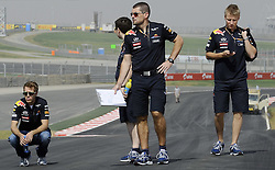 27.10.2011, Jaypee-Circuit, Noida, IND, F1, Grosser Preis von Indien, Noida, im Bild DHL Branding - Sebastian Vettel (GER), Red Bull Racing // during the Formula One Championships 2011 Large price of India held at the Jaypee-Circui 2011-10-27    EXPA Pictures © 2011, PhotoCredit: EXPA/ nph/  Dieter Mathis        ****** only for AUT ******
