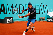 Feliciano Lopez of Spain in action during the Mutua Madrid Open 2018, tennis match on May 9, 2018 played at Caja Magica in Madrid, Spain - Photo Oscar J Barroso / SpainProSportsImages / DPPI / ProSportsImages / DPPI