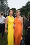 SAFFRON ALDRIDGE; KATARINA PEYTON-JONES2016 SERPENTINE SUMMER FUNDRAISER PARTY CO-HOSTED BY TOMMY HILFIGER. Serpentine Pavilion, Designed by Bjarke Ingels (BIG), Kensington Gardens. London. 6 July 2016