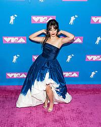 August 21, 2018 - New York City, New York, USA - 8/20/18.Camila Cabello at the 2018 MTV Video Music Awards at Radio City Music Hall in New York City. (Credit Image: © Starmax/Newscom via ZUMA Press)