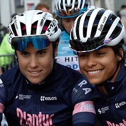 25-03-2021: Wielrennen: Classic Brugge - De Panne Women: De Panne<br /> Plantur-Pura <br /> Sanne Cant en Ceylin del Carmen Alvarado