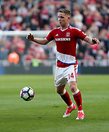 Adam Forshaw of Middlesbrough during the Premier League match at the Riverside Stadium, Middlesbrough. Picture date: April 8th, 2017. Pic credit should read: Jamie Tyerman/Sportimage