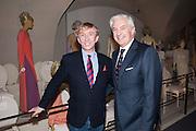 JASPER CONRAN; EDMONDO DI ROBILAT, Valentino: Master of Couture - private view. Somerset House, London. 28 November 2012