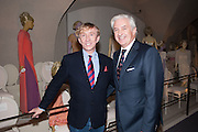 JASPER CONRAN; EDMONDO DI ROBILAT, Valentino: Master of Couture - private view. Somerset House, London. 28 November 2012