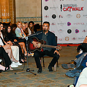 Amish Darr performs at London Fashion GALA S/S 22  at The Royal Horseguards Hotel and One Whitehall Place on 2019-09-17, London, UK.