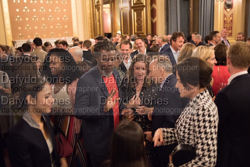 HURVIN ANDERSON, TenTen. The Government Art Collection/Outset Annual Award. Champagne reception to announce the inaugural artist Hurvin Anderson and unveil his 2018 print. Locarno Suite, Foreign and Commonwealth Office. SW1. 2 October 2018