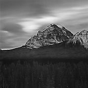 Mount Temple At Dawn, Lake Louise, Banff National Park, AB, Canada