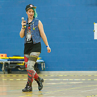 London Rockin' Rollers Allstars take on Manchester Roller Derby Checkerbroads in the British Champs Division 2 Playoffs
