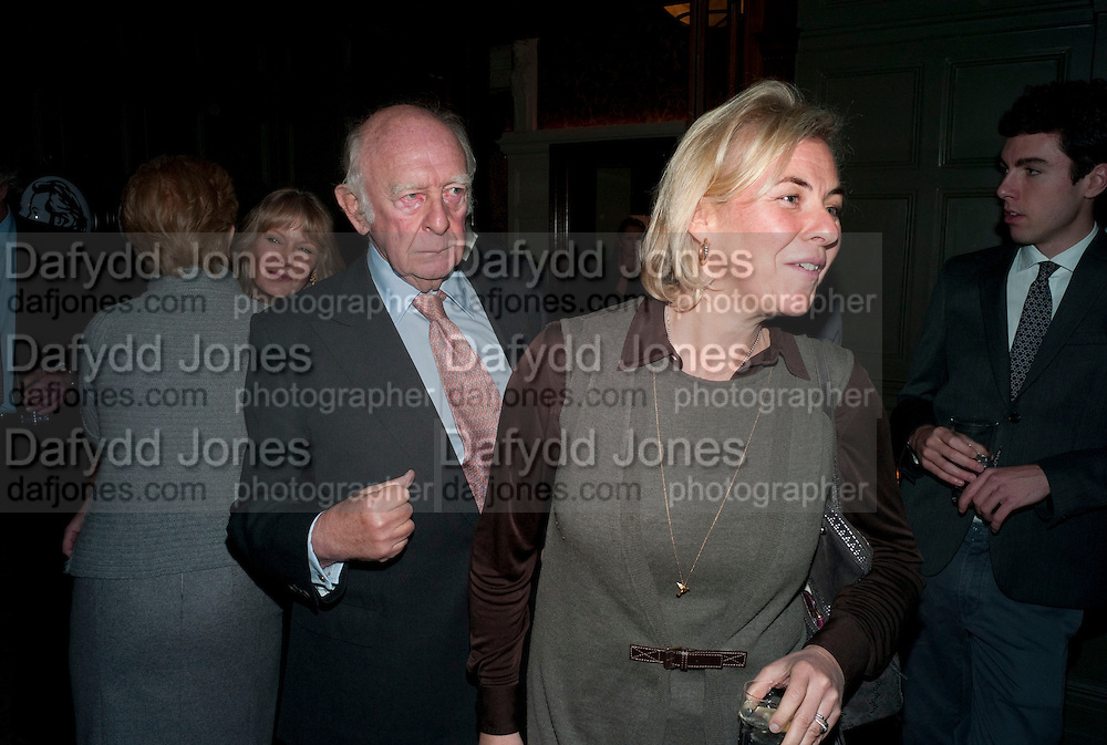 PRINCE RUPERT LOEWENSTEIN;COUNTESS DORA  DELLA GHEREDESCA. Graydon and Anna Carter host a lunch for Carolina Herrera to celebrate the ipening of her new shop on Mount St. .The Connaught. London. 20 January 2010