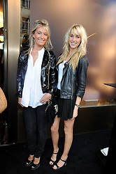 Left to right, OLIVIA BUCKINGHAM and AYESHA MAKIM at a party to celebrate the opening of the Giuseppe Zanotti Design Boutiques at 49 Sloane Street, London on 10th July 2008.NON EXCLUSIVE - WORLD RIGHTS
