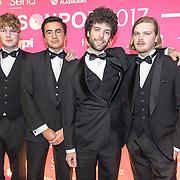 NLD/Amsterdam/201702013- Edison Pop Awards 2017, Band Klangstof