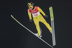 February 10, 2018 - Pyeonchang, Gangwon, South Korea - Daiki Ito of Japan at mens normal hill final at 2018 Pyeongchang winter olympics at Alpensia Ski Jumping Centre, Pyeongchang, South Korea on February 10, 2018. Ulrik Pedersen/Nurphoto  (Credit Image: © Ulrik Pedersen/NurPhoto via ZUMA Press)