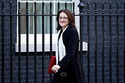 © Licensed to London News Pictures. 16/10/2012. LONDON, UK. Theresa Villiers, the Northern Ireland Secretary, is seen on Downing Street in London for today's (16/10/2012) meeting of David Cameron's cabinet. Photo credit: Matt Cetti-Roberts/LNP