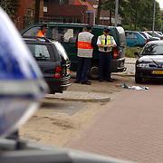 NLD/Huizen/20050616 - Examen verkeersbrigadiers politie Gooi & vechtstreek op de Bovenweg